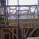 滋賀県湖南市の新築現場